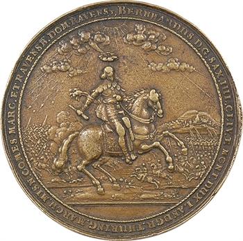 Allemagne, prise de Vieux-Brisach par Bernhard de Saxe-Weimar, 1659 (postérieure) Dadler