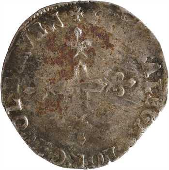 Comtat Venaissin, Sixte V, double sol parisis, s.d. Avignon