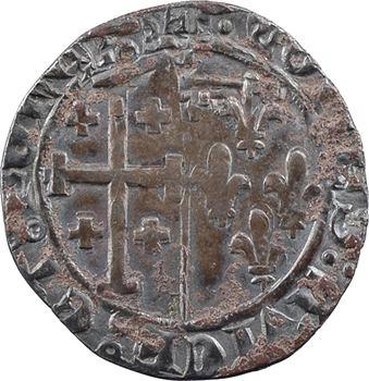 Provence (comté de), Louis II d'Anjou, gros ou sol coronat