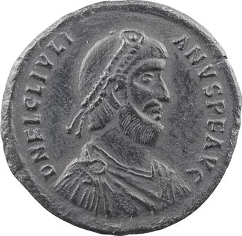 Julien II, double maiorina, Cyzique, 1re officine, 361-363