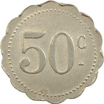 Maroc, Casablanca, 50 centimes, Hôtel Excelsior, s.d