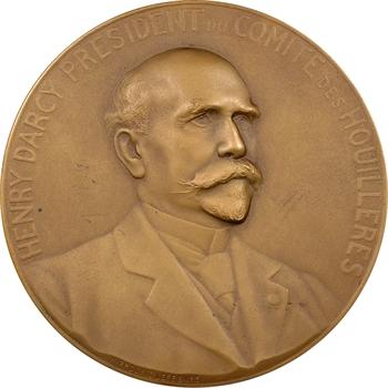 Mine : Henry Darcy, Président du comité des Houillères (25e anniversaire), par Lefèbvre, 1886-1911 Paris