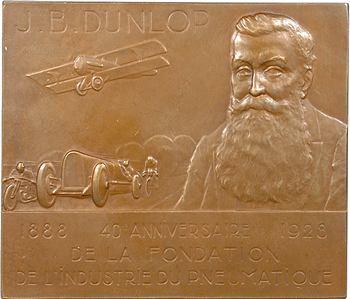 Indochine, 40e anniversaire des pneumatiques Dunlop, 1928 Paris [grand module]
