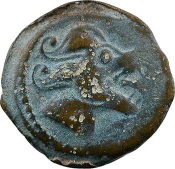 Bituriges Cubes, bronze à la gueule de loup, classe III-V, c.60-50 av. J.-C.
