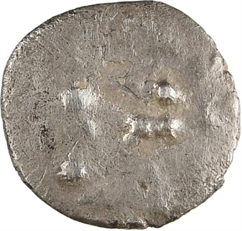 Cadurques, obole à la tête triangulaire, IIe-Ier s. av. J.-C