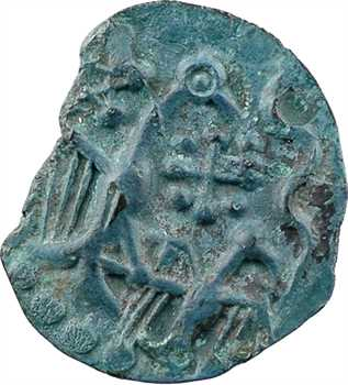 Carnutes, bronze à l'aigle et à l'aiglon, c.Ier s. av. J.-C.