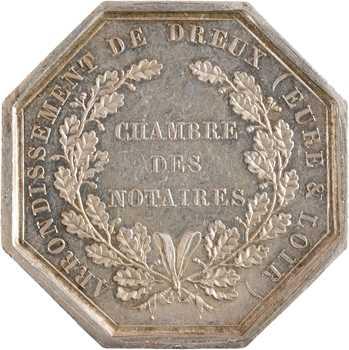 IIIe République, Chambre des notaires de l'arrondissement de Dreux (Eure et Loir), 1834 (post.) Paris