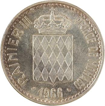 Monaco, Charles III (hommage), 10 francs, 1966 Paris