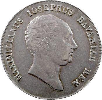 Allemagne, Bavière (royaume de), Maximilien Ier Joseph, thaler, 1813 Munich