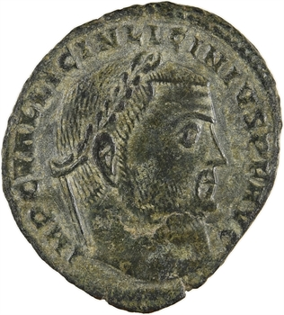 Licinius Ier, follis, Héraclée, 313-314