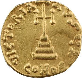 Léon III, solidus, Constantinople, 1re officine, c.717-720