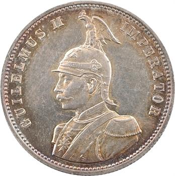 Tanzanie (Afrique Orientale Allemande), Guillaume II, roupie, 1890