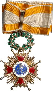 Espagne, Ordre d'Isabelle la Catholique, bijou de Commandeur