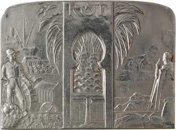 Algérie, Centenaire, Exposition générale d'Oran, bronze-argenté, 1930 Paris