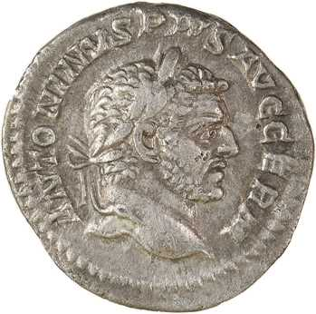 Caracalla, denier, Rome, 217