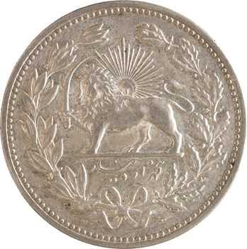 Iran, Muzaffar al-Din Shah, 5000 dinars ou 5 krans, AH 1320 (1902)