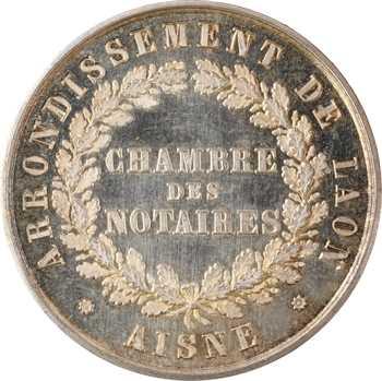 Second Empire, Notaires de l'arrondissement de Laon (Aisne), s.d. Paris