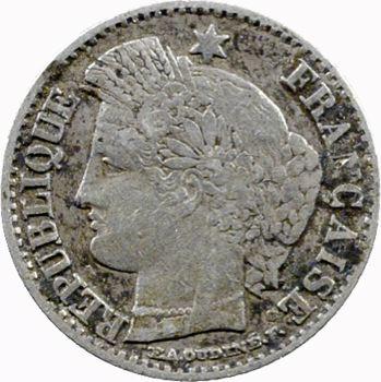 IIe République, 20 centimes Cérès, 1850 Bordeaux