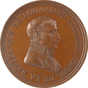 Consulat, la paix de Lunéville, par Andrieu, s.d. (1801, post.) Paris