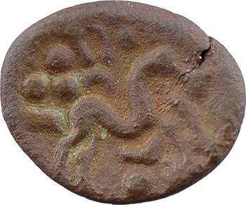 Ambiens, statère de bronze uniface, c.60-50 av. J.-C.