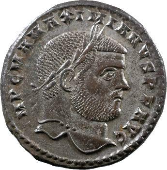 Maximien Hercule, follis, Cyzique, c.297-299