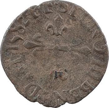 Henri III, liard au dauphin 1er type, 1582 Grenoble