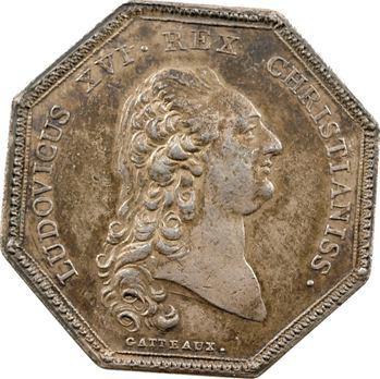 Louis XVI, jeton par Nicolas Gatteaux, s.d