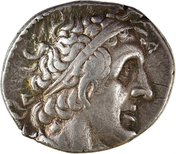 Égypte, Ptolémée II, tétradrachme, Sidon, 274 av. J.-C