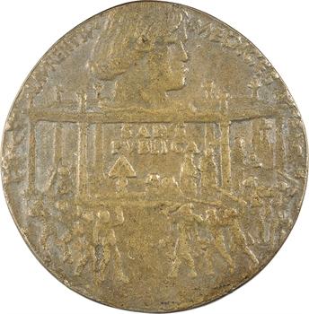 Italie, Florence, la conjuration des Pazzi, fonte par Bertoldo di Giovanni, 1478 (postérieure)