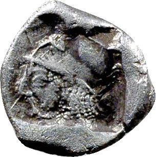 Mysie, trihémiobole, Lampsaque, c.500-450 av. J.-C.