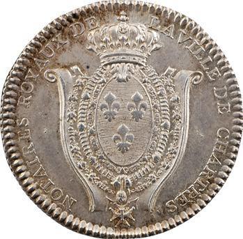 Chartres, Louis XVI, Notaires Royaux de Chartres, s.d. Paris