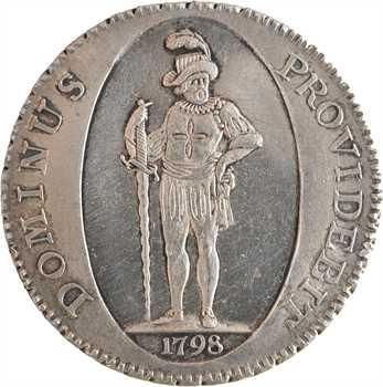 Suisse, Berne (canton de), thaler, 1798 Berne