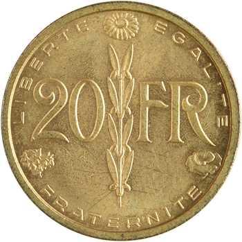 IVe République, essai de 20 francs par Simon, 1950 Paris
