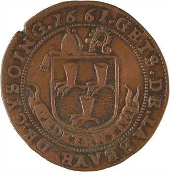 Flandres, Abbaye de Cysoing, 1661