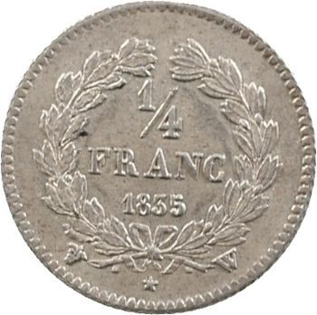 Louis-Philippe Ier, 1/4 franc, 1835 Lille