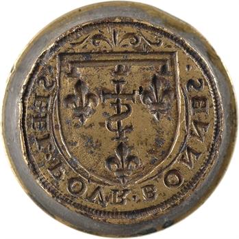 Orléans (branche des Valois-Orléans), sceau de la branche des Valois-Orléans, s.d. (fin XVe-début XVIe s. ?)