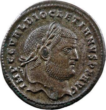 Dioclétien, follis, Cyzique, c.297-299