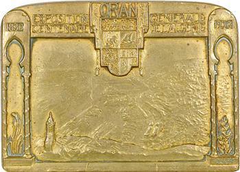 Algérie, Centenaire, Exposition générale d'Oran, 1930