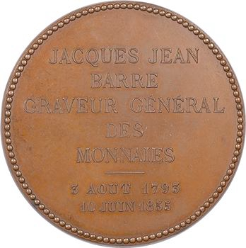 Second Empire, Jacques-Jean Barre par Auguste et Albert Barre, 1855 Paris