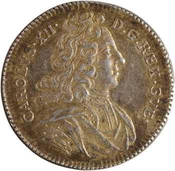 Suède, couronnement de Charles XII à Stockholm, 1697