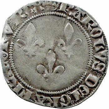 Charles VII, double gros de Tournai, 1re émission