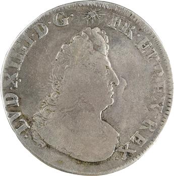 Louis XIV, demi-écu de Flandre aux palmes, 1694 Lille