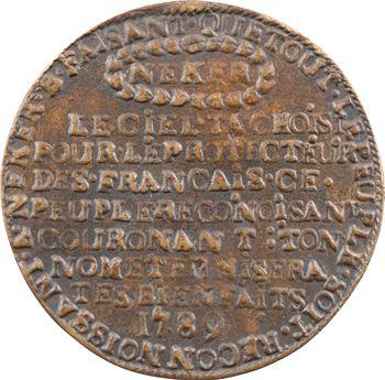 Constitution, Jacques Necker, ministre d'État, 1789 Paris