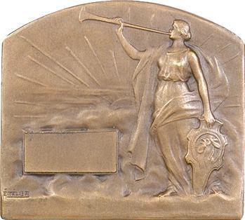 Télier (É.) : plaque, Jeux olympiques, s.d. Paris