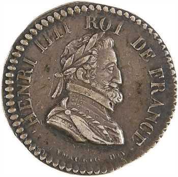 Louis XVIII, miniature hommage à Henri IV, par Dubois, s.d.
