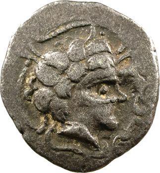Namnètes, statère de billon à l'hippophore, classe II, c.80-50 av. J.-C.