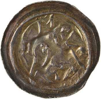 Alsace, Strasbourg (évêché de), pfennig à l'agneau, s.d. (XIIIe s.)