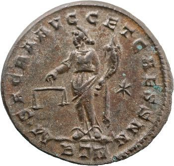 Maximien Hercule, follis, Trèves, c.300-301