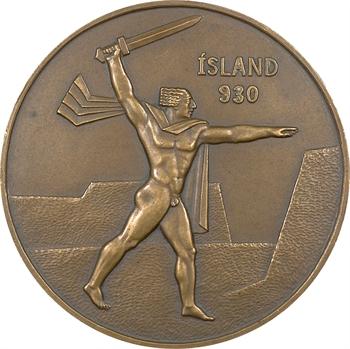 Islande, célébration du millénaire du pays, 1930 Paris