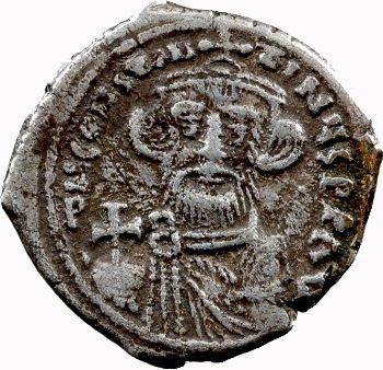 Constant II, hexagramme, Constantinople